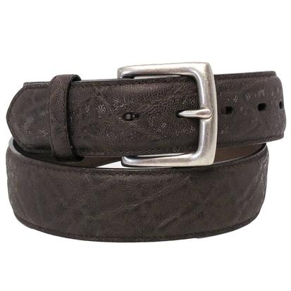 3D Mens Dark Brown Dress Belt