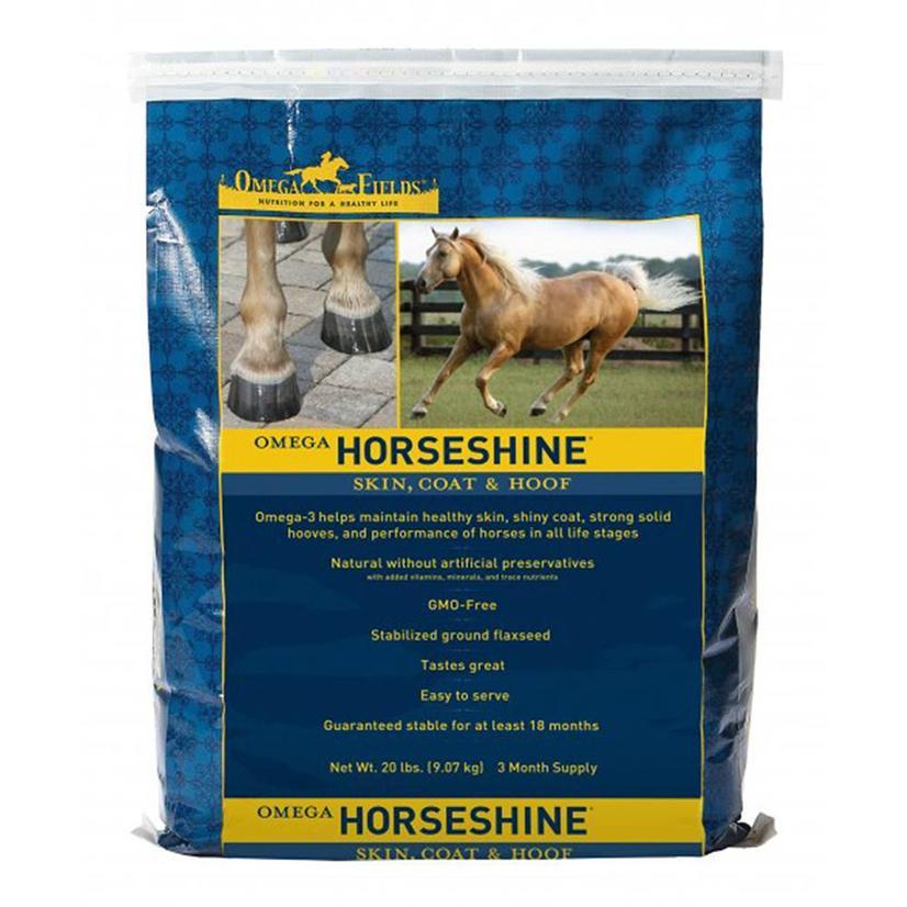 Omega Fields : Omega Horseshine 4.5 Lb