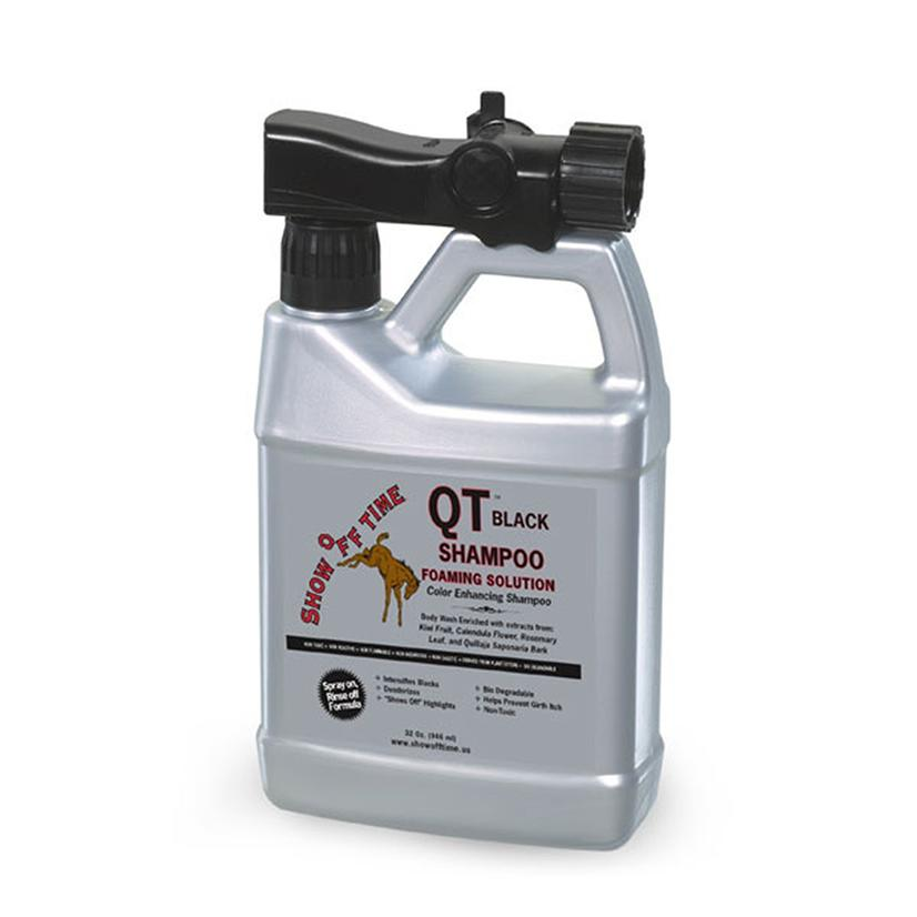 Show Off Time QT Shampoo Black Foaming Solution 32 oz