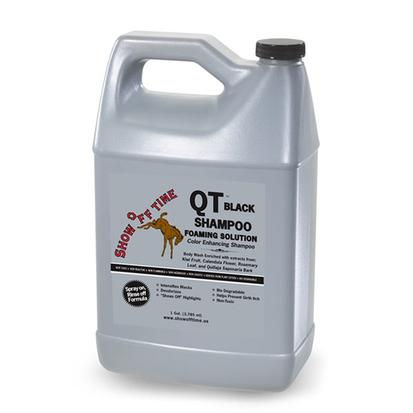 Show Off Time QT Shampoo Black Foaming Solution 1 Gallon