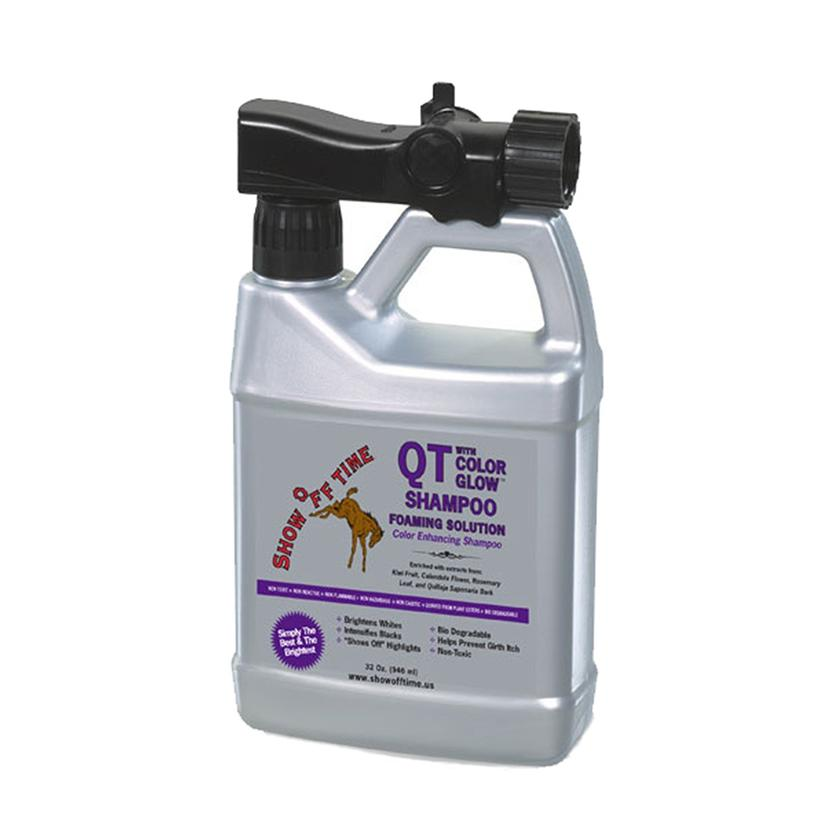 Show Off Time Qt W/Color Glow Foaming Solution 32 Oz