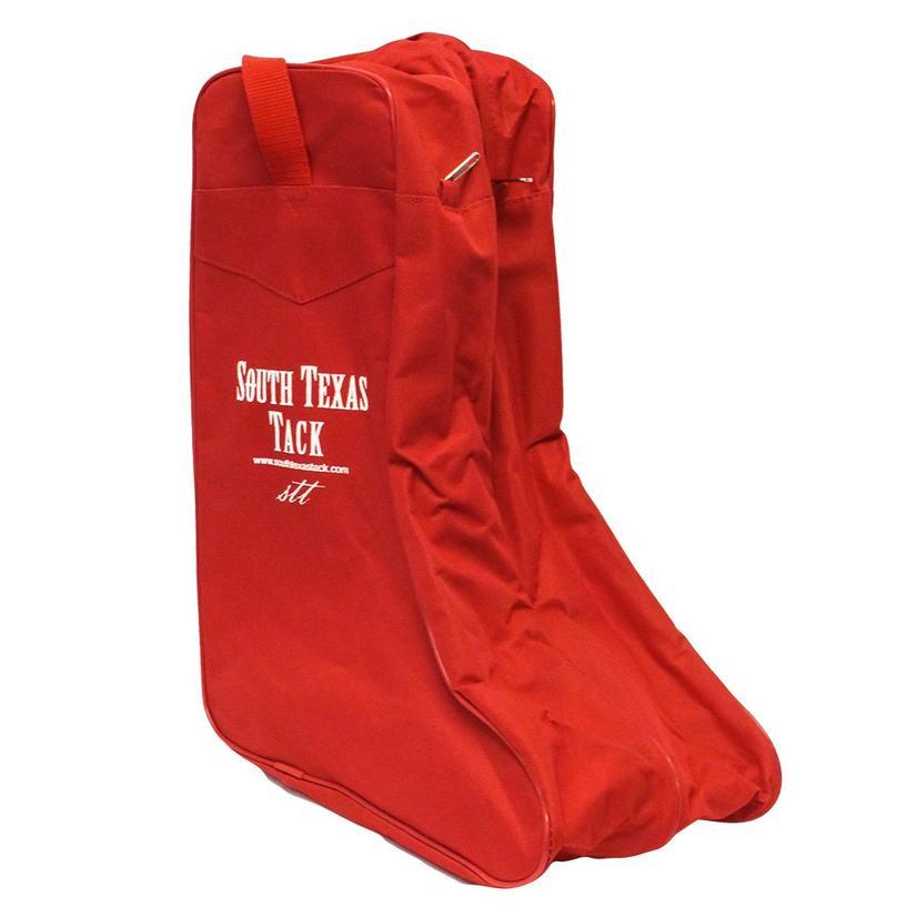 Stt Red Boot Bag
