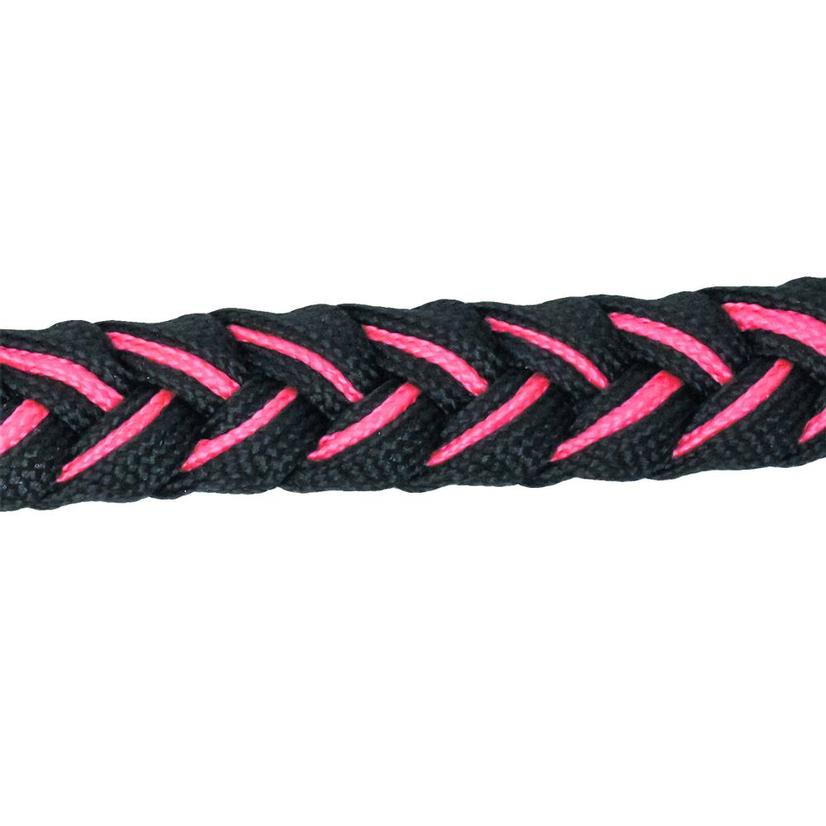 Martha Josey Knot Reins BLACK/HP