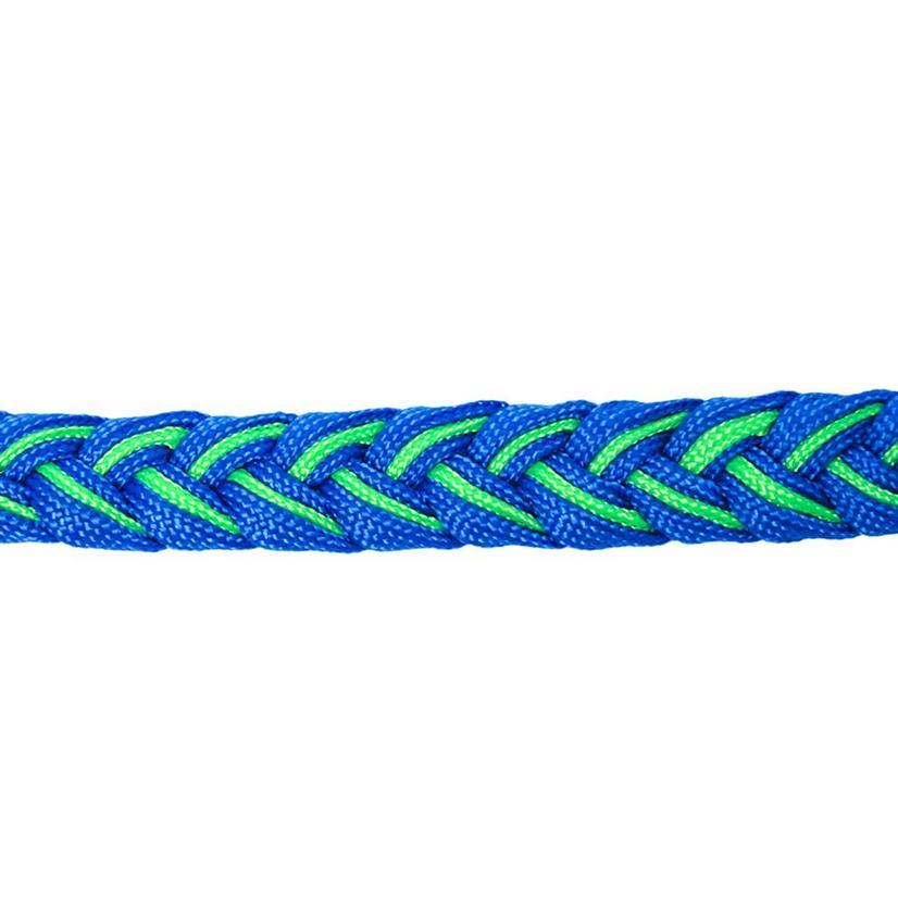 Martha Josey Knot Reins BLUE/CHARTR