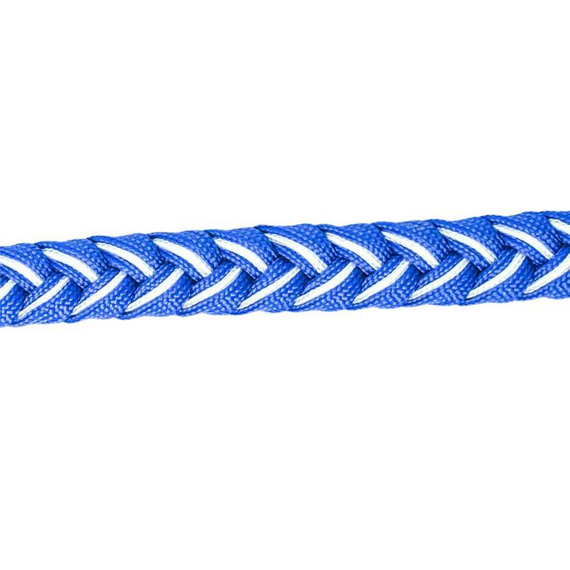 Martha Josey Knot Reins BLUE/WHITE