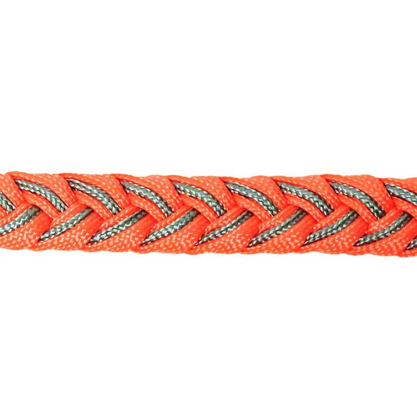 Martha Josey Knot Reins ORANGE/CHART
