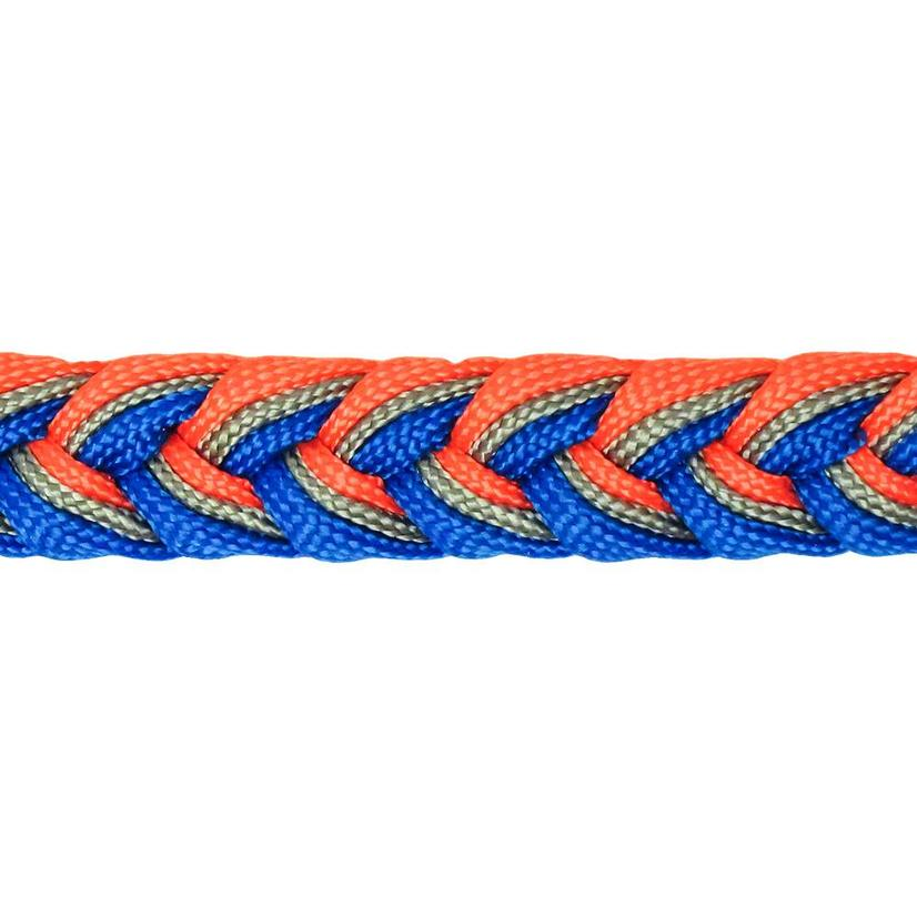 Martha Josey Knot Reins OR/CHAR/BLUE
