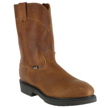 Justin Men's Steel Toe Aged Bark Workboot