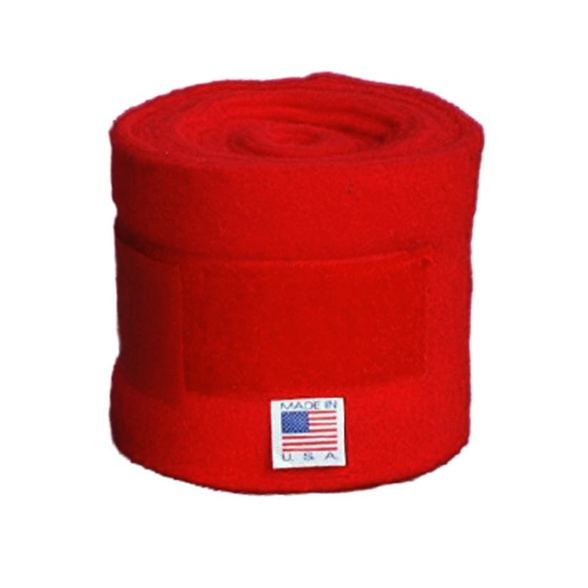 Keeneland Polo Wraps RED