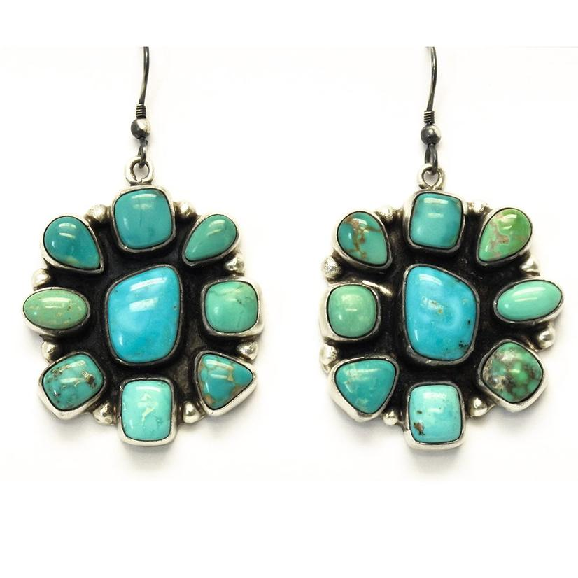 STT The Codys Turquoise Cluster Earrings