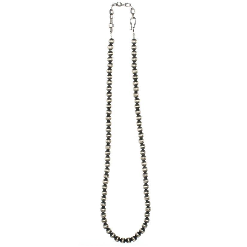 STT Navajo Pearl 8mm 24in Necklace