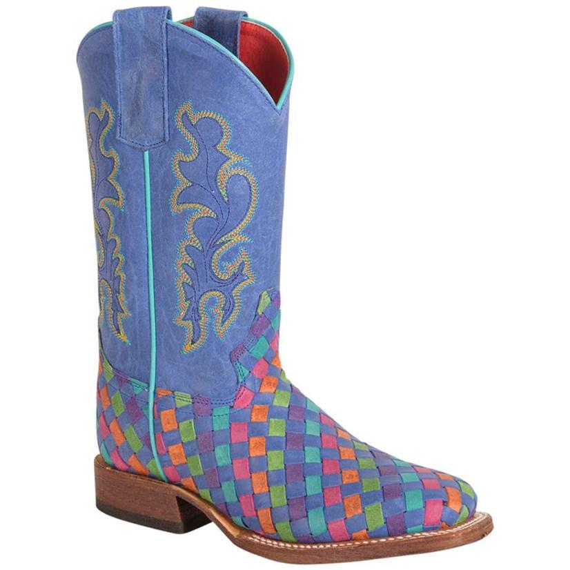 Macie Bean Girls Tutti Frutti Serape Boots
