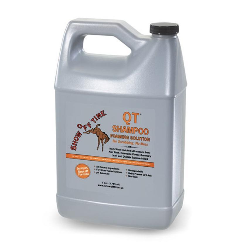 Show Off Time QT Gold Shampoo Foam Solution 1 Gallon