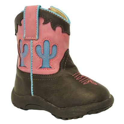 Roper Infant Girls Cowbaby Cactus Cowgirl Boots