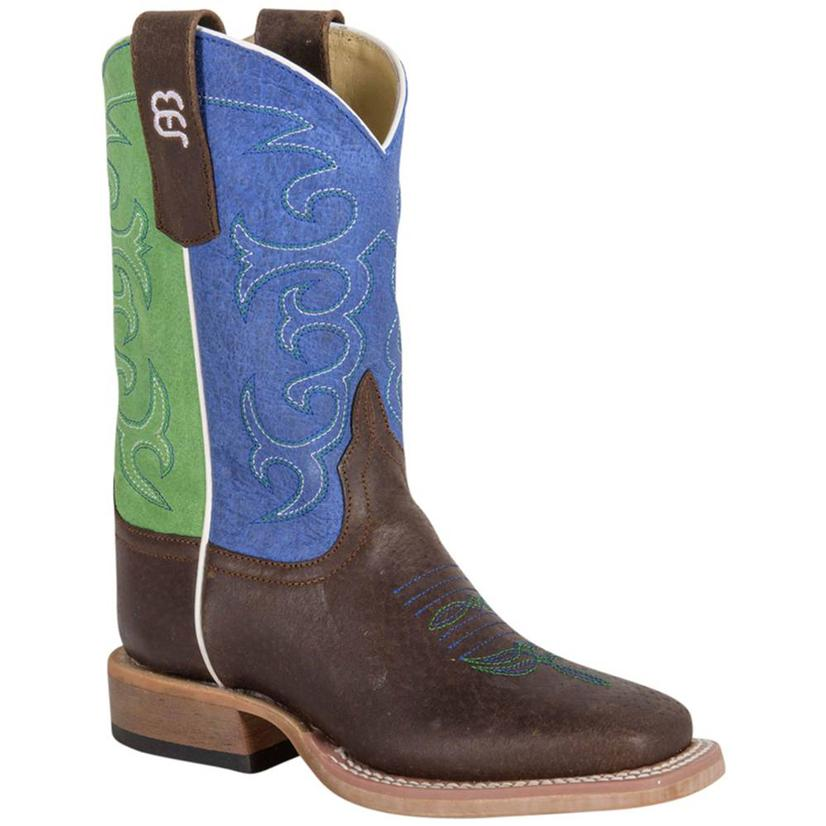 Anderson Bean Blue & Green Sensation Boots