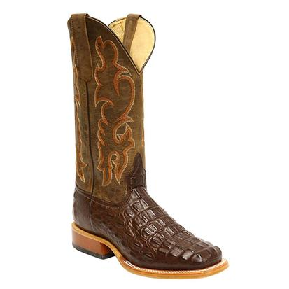 Anderson Bean Boys Horse Power Chocolate Nile Western Cowboy Boots