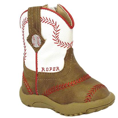 Roper Infant Baseball Boot w/Zipper