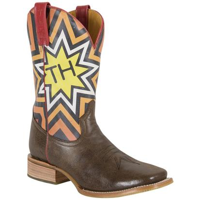 Tin Haul Mens Rock Star Cowboy Boots