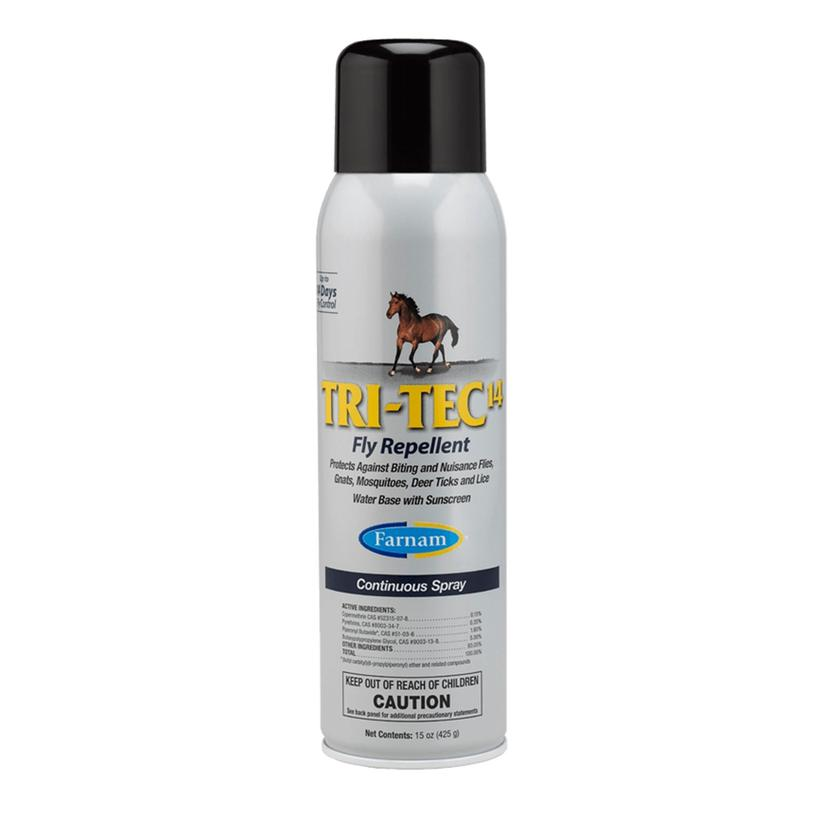 Farnam Tri- Tec 14 Fly Repellent Continuous Spray 15oz