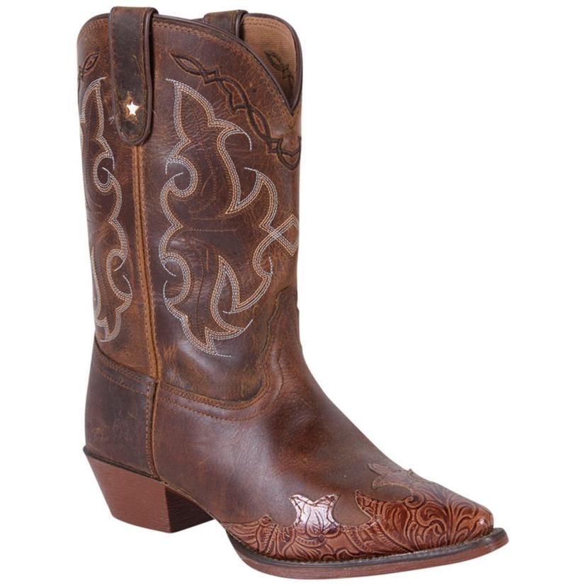 Tony Lama Kids Tan Savannah Vaquero Boots