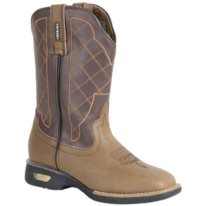 Cinch Kids LED Horseman Square Toe Cowboy Boots