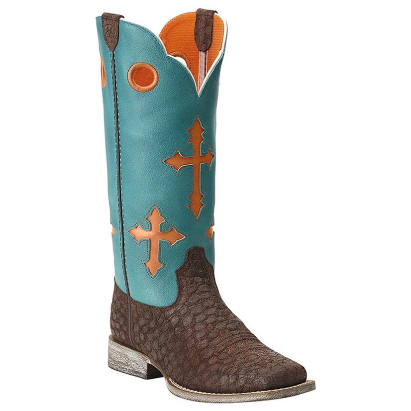 Ariat Kids Ranchero Square Toe Cowboy Boots