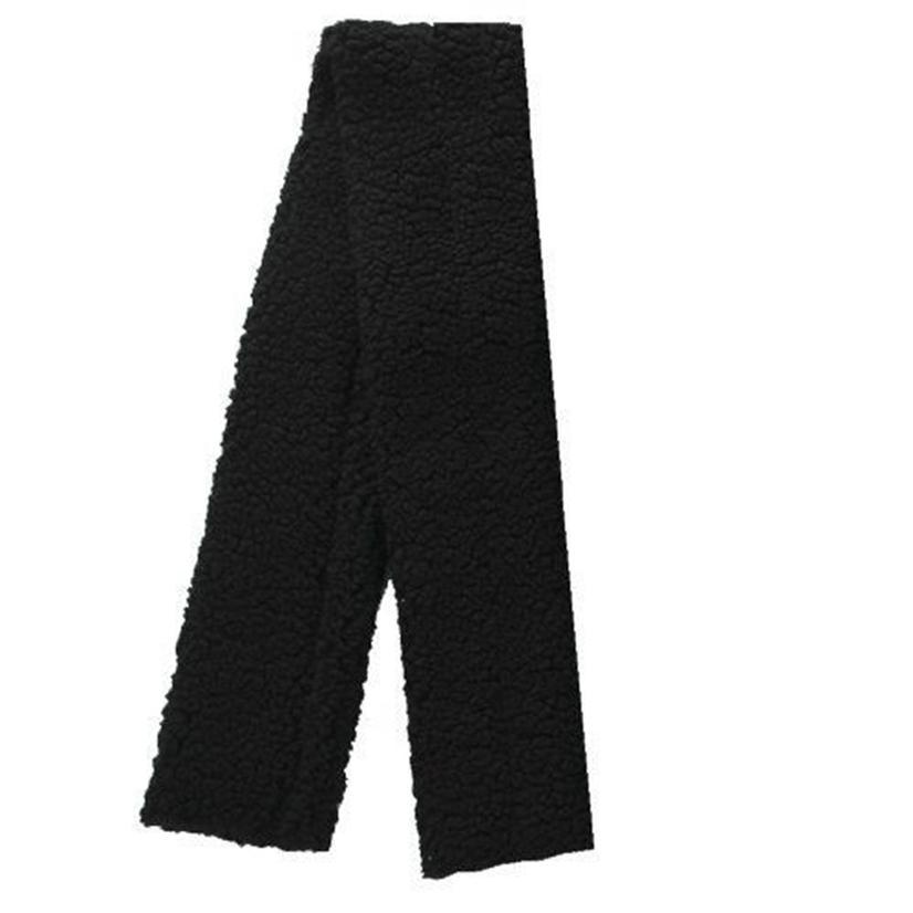 Intrepid International Fleece Girth Cover BLACK