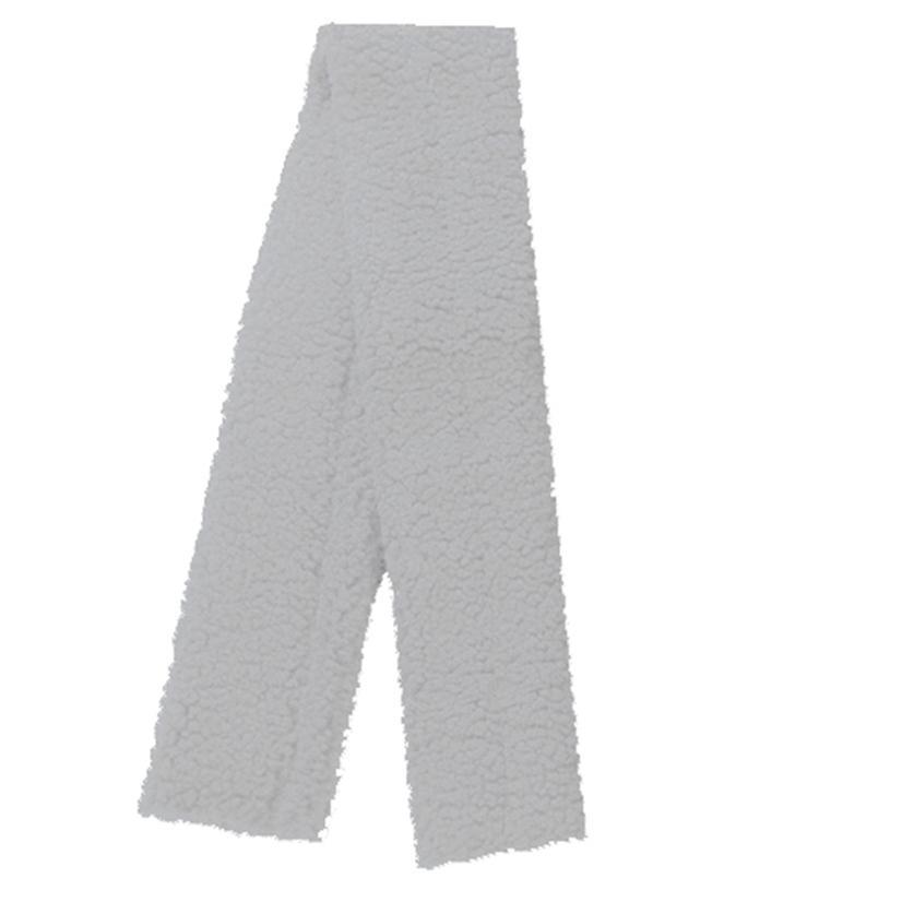 Intrepid International Fleece Girth Cover WHITE
