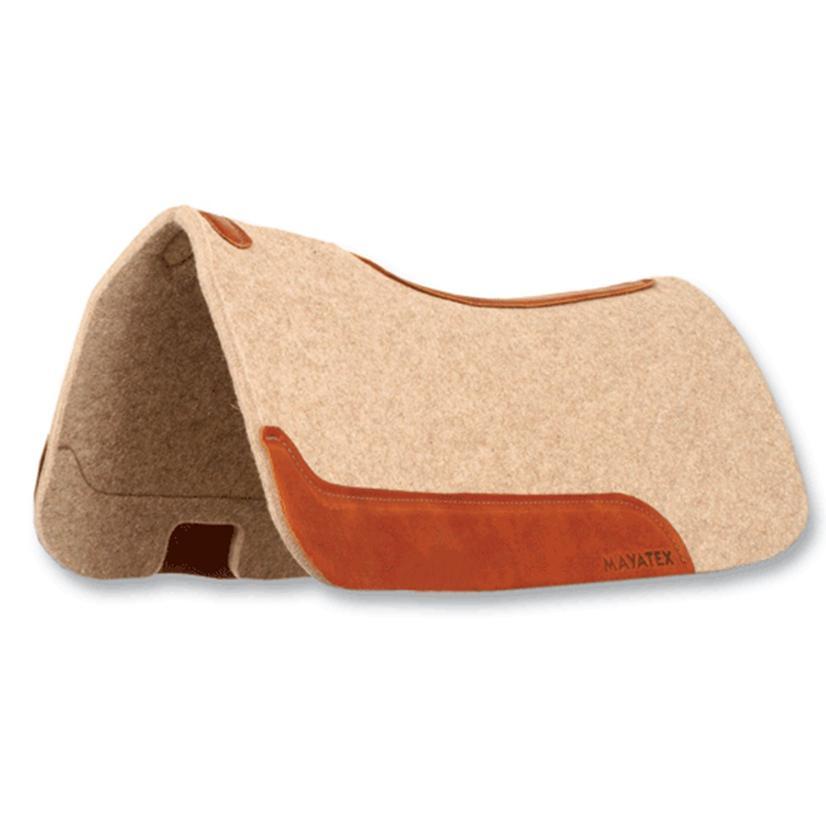 Mayatex 100 % Wool Felt Contour Saddle Pad