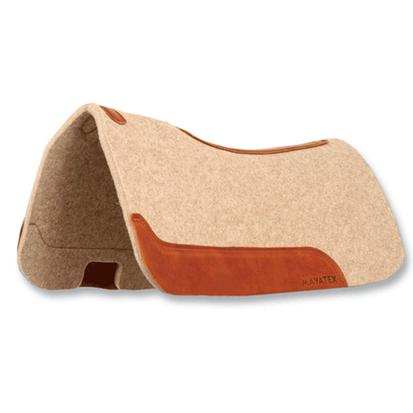 Mayatex 100% Wool Felt Contour Saddle Pad