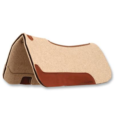 Mayatex Tan Wool Felt Contour Pad w/Foam Rubber Center