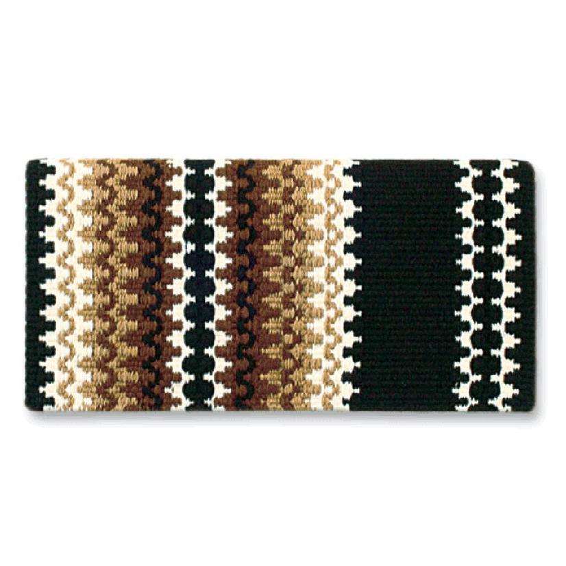 Mayatex Corona New Zealand Wool Saddle Blanket COFF/CRM/IND