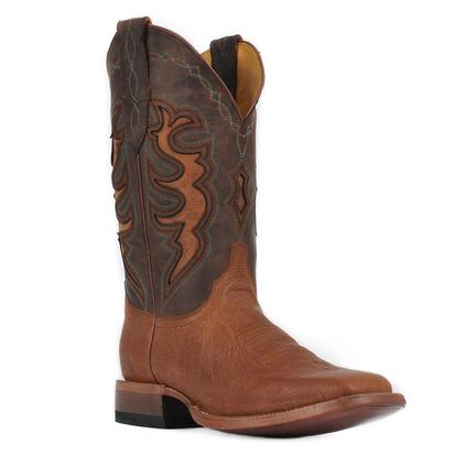 Cinch Mens Champion Cowhide Honey Western Boot