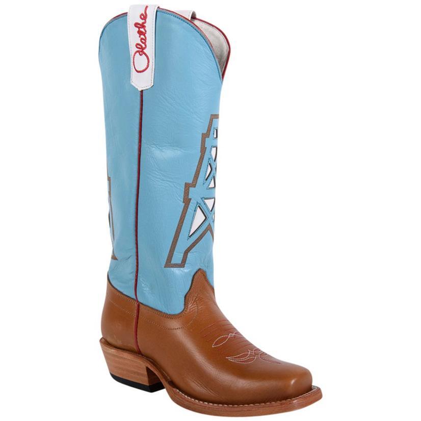 fd2a71d5e4 Olathe Boys Leather Cowboy Kids Oiled Derek Tan Western Boots
