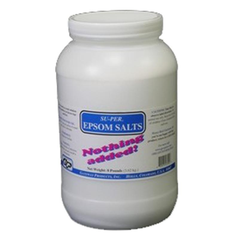 Su- Per Epsom Salts 8lb