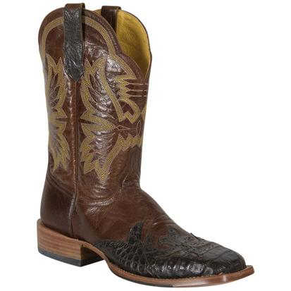 Cinch Mens Burnished Chestnut Goat Cowboy Boots