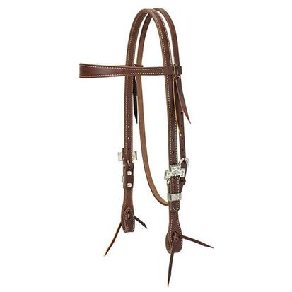 Tourquoise Cross Working Cowboy Slim Browband