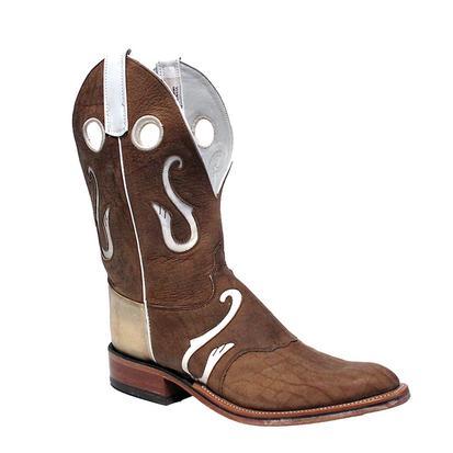 Olathe Mens Geronimo Bison Cowboy Boots
