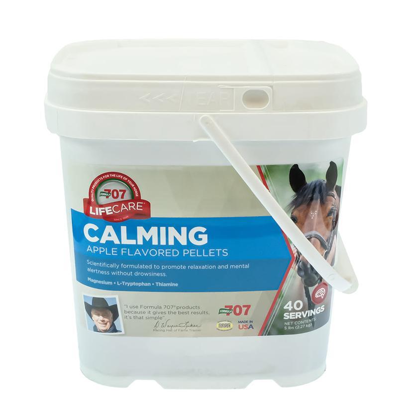 Formula 707 Calming Essentials Pellets - 5 Lb