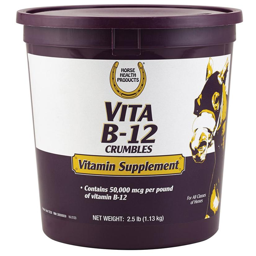 Horse Health Products Vita B- 12 Crumbles 2.5lbs