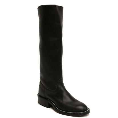Olathe Black Polo Boots