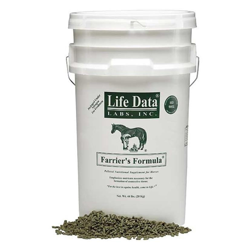 Life Data Farrier's Formula Horse Supplement 44lb Pail