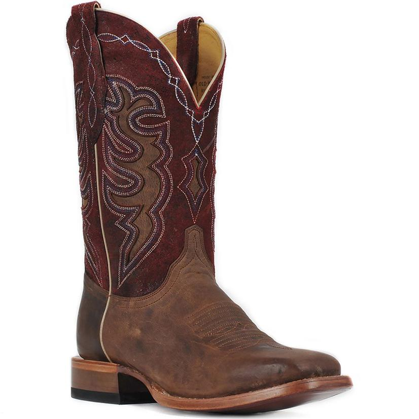 Cinch Red Bone Goat Cowboy Boots