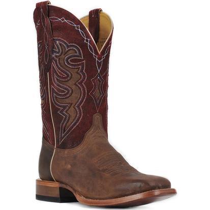 Cinch Red Bone Goat Cowboy Boots