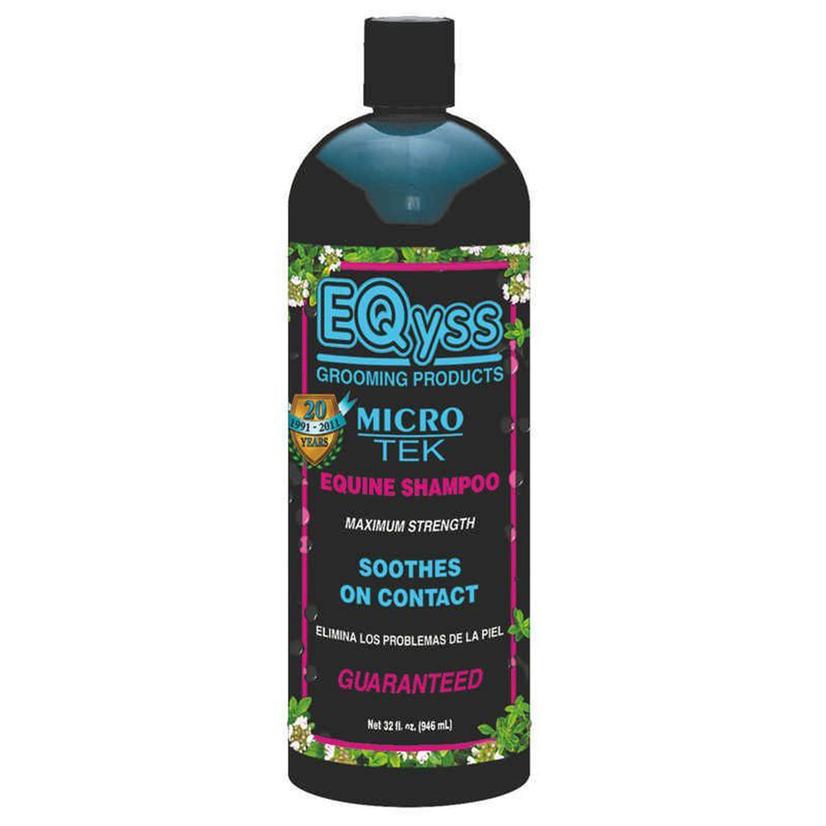 Eqyss Micro- Tek Equine Shampoo 32oz