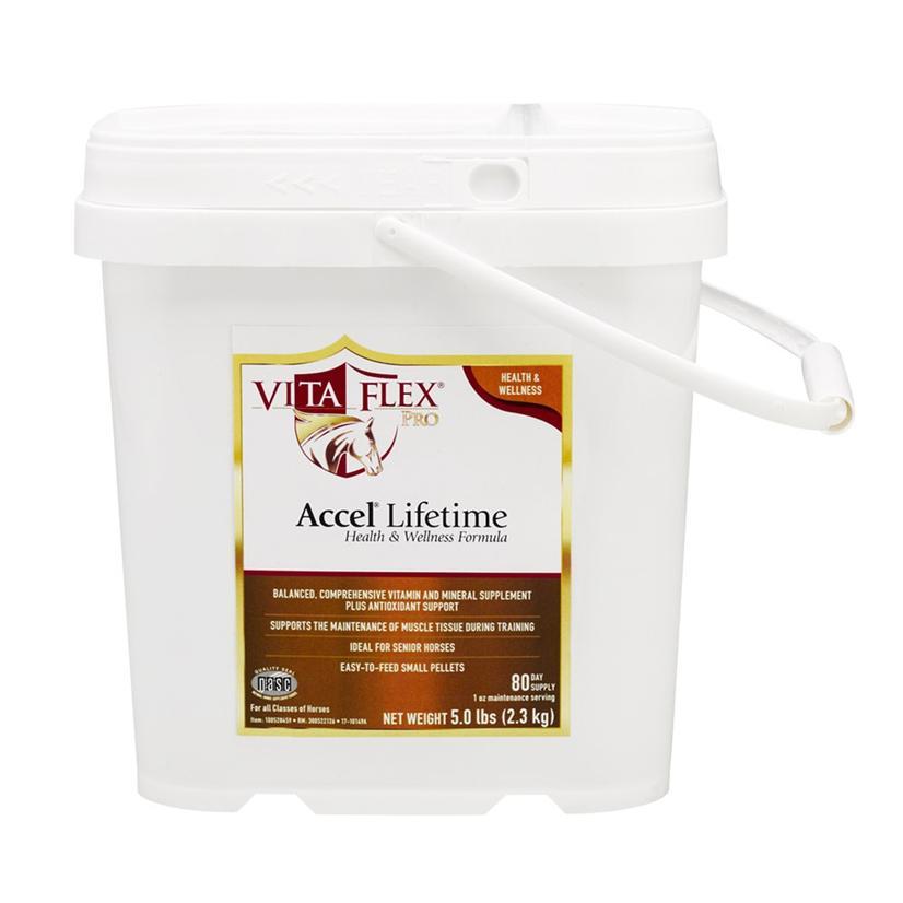 Vita Flex Accel Lifetime Health & Wellness Formula Horse Supplement 5lb