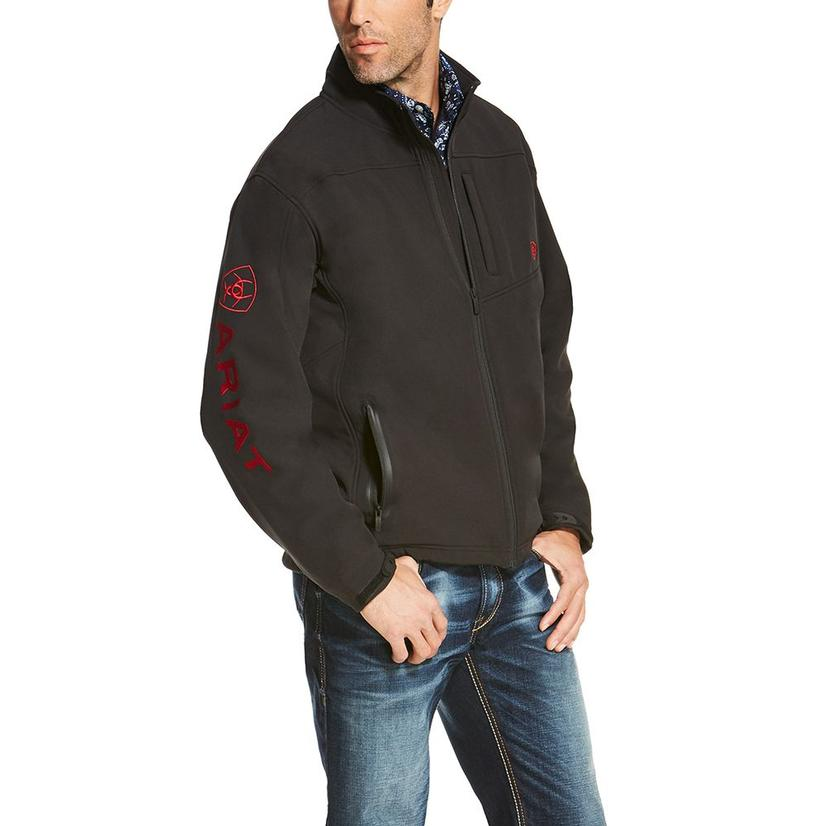 Ariat Mens Logo Softshell Jacket