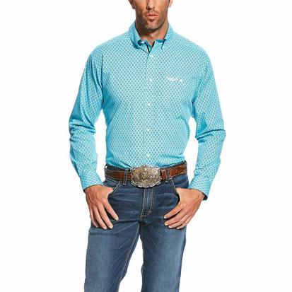 Ariat Mens Relentless Limitless Seabreeze Long Sleeve Shirt