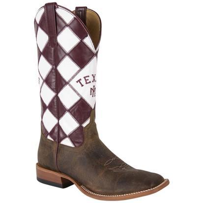 Horse Power Mens Texas Aggie Boots