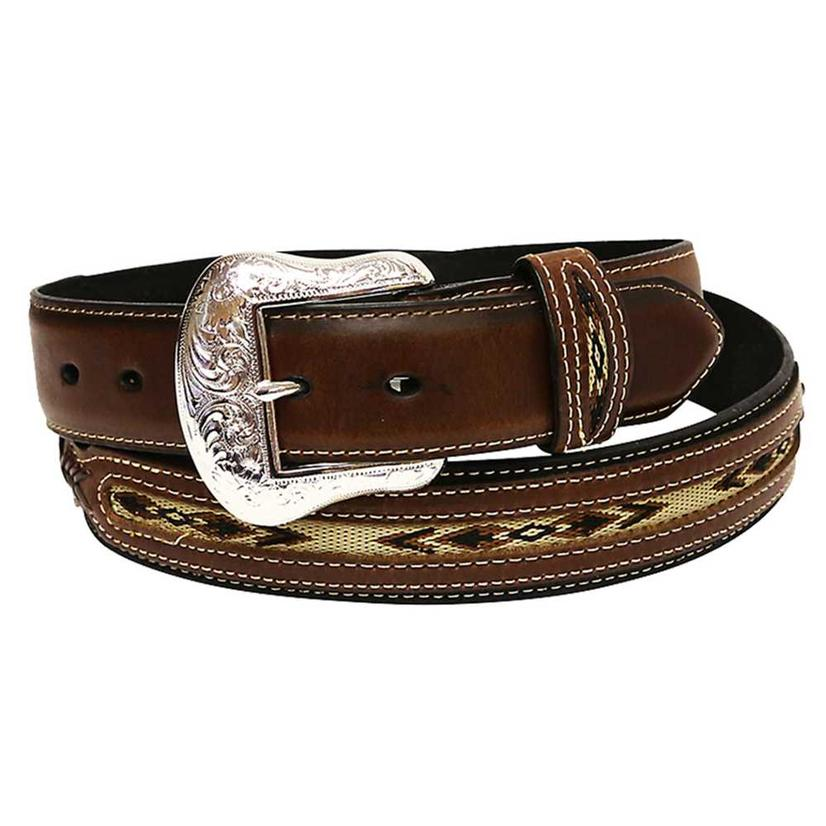 Nocona Mens Brown Top Hand Southern Belt